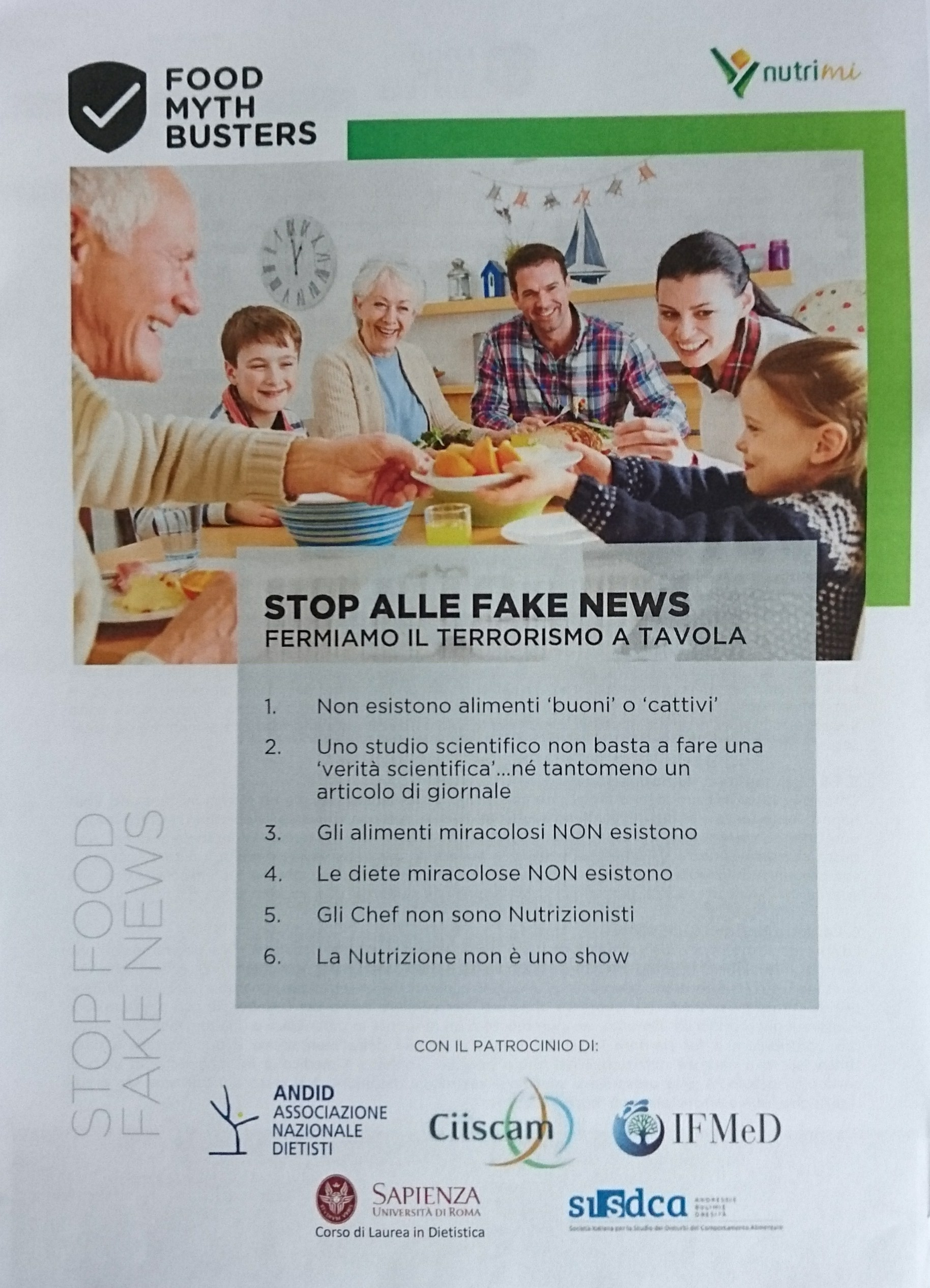 Dietista Ticino Stop Alle Fake News
